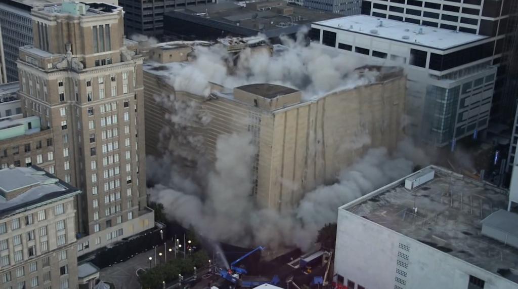 Houston Macy's implosion