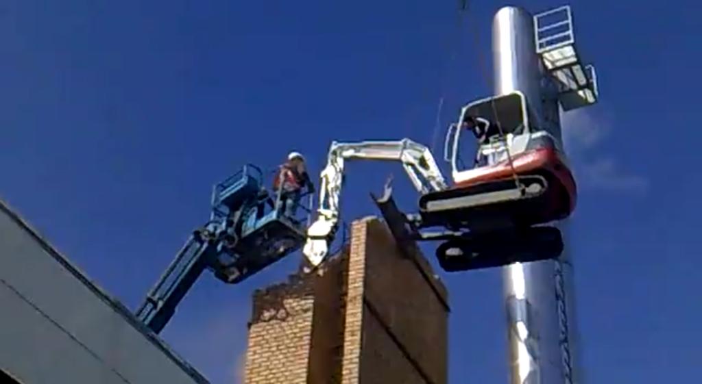 The Flying Excavator