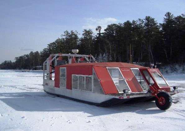 Wisconsin's Ice Angel (Photo: madelinebroker / Weather Underground)