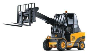 JCB's Teletruk 35D forklift will be the first of several compact machines to feature Kohler Direct Injection engines.