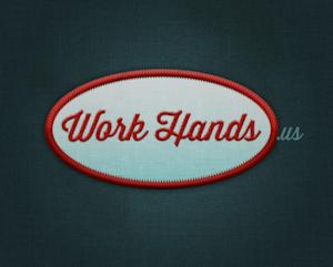 work hands logo