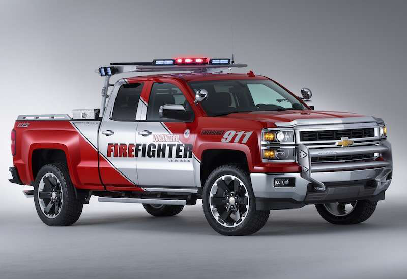 Chevy S New Black Ops And Volunteer Firefighter Concept