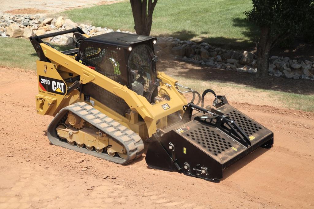 Caterpillar 289D compact track loader