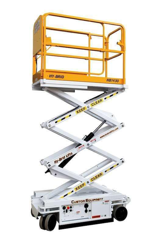 Custom Equipment HyBrid HB1430 scissor lift