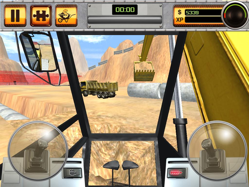 Scoop Excavator for iPad and iPhone