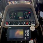 Case 2050M crawler dozer control panel