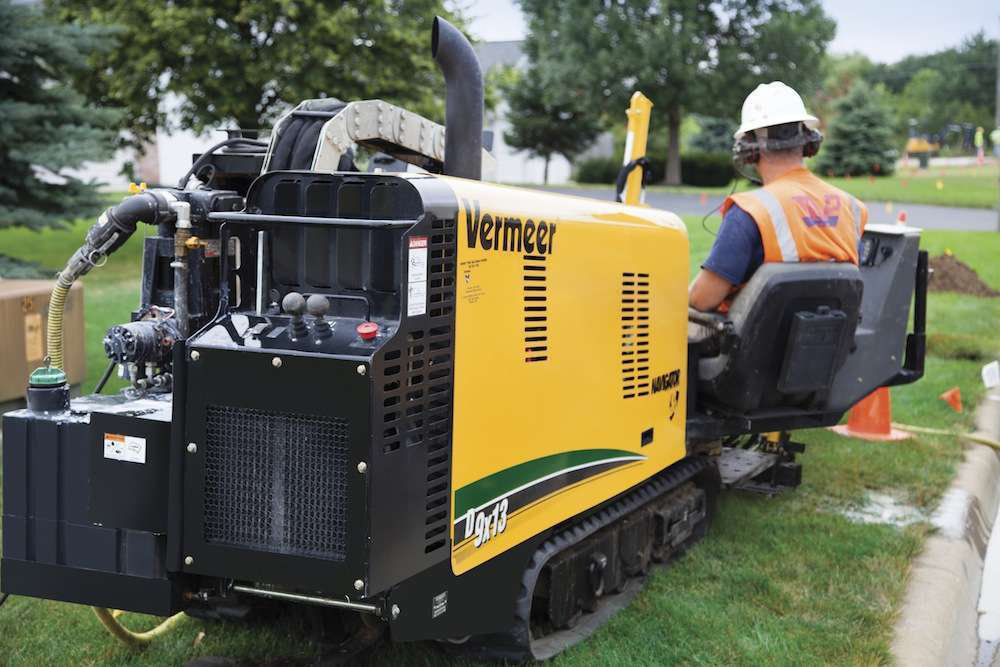 Vermeer D9x13S3 directional drill