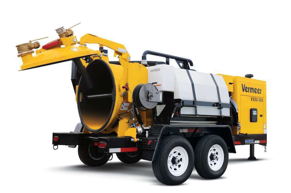 High ground clearance and a low center of gravity help McLaughlin's second generation of vacuum excavation trucks negotiate tough terrain.
