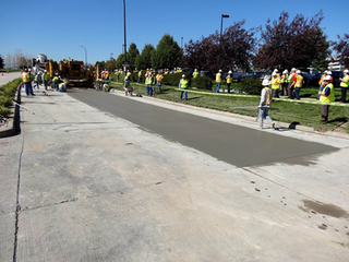 The Highlands Ranch, Colorado, project is one of the largest concrete pavement preservation projects to have ever been undertaken. (Photo: Courtesy of International Grooving and Grinding Association/Douglas County Department of Public Works Engineering)