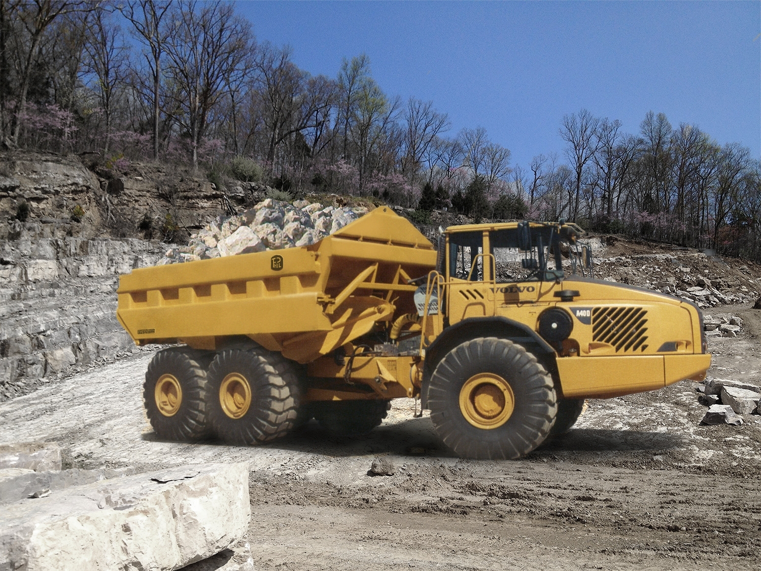 Volvo CE to offer artic haulers with Phillipi-Hagenbuch products, technology