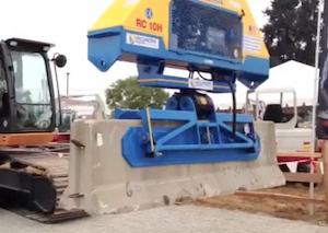 Vacuworx Concrete Barrier Lifter