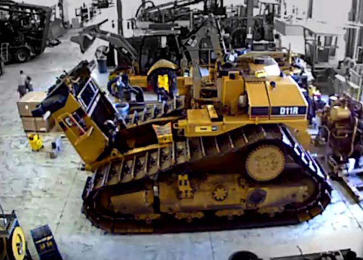 Cat D11R powertrain rebuild