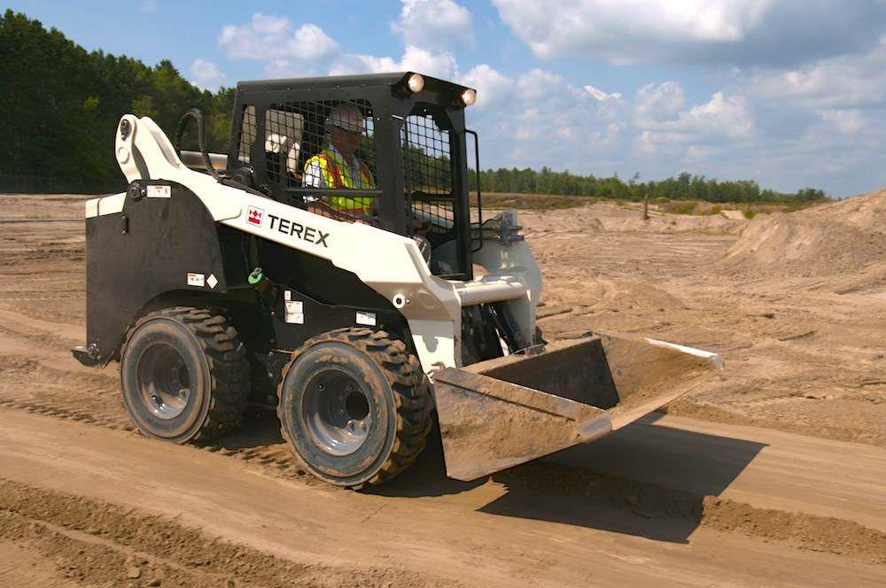 Terex TSV-90 skid steer