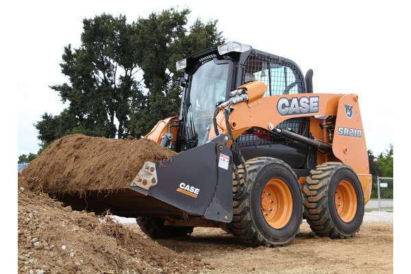 Case Construction SR210 skid steer loader