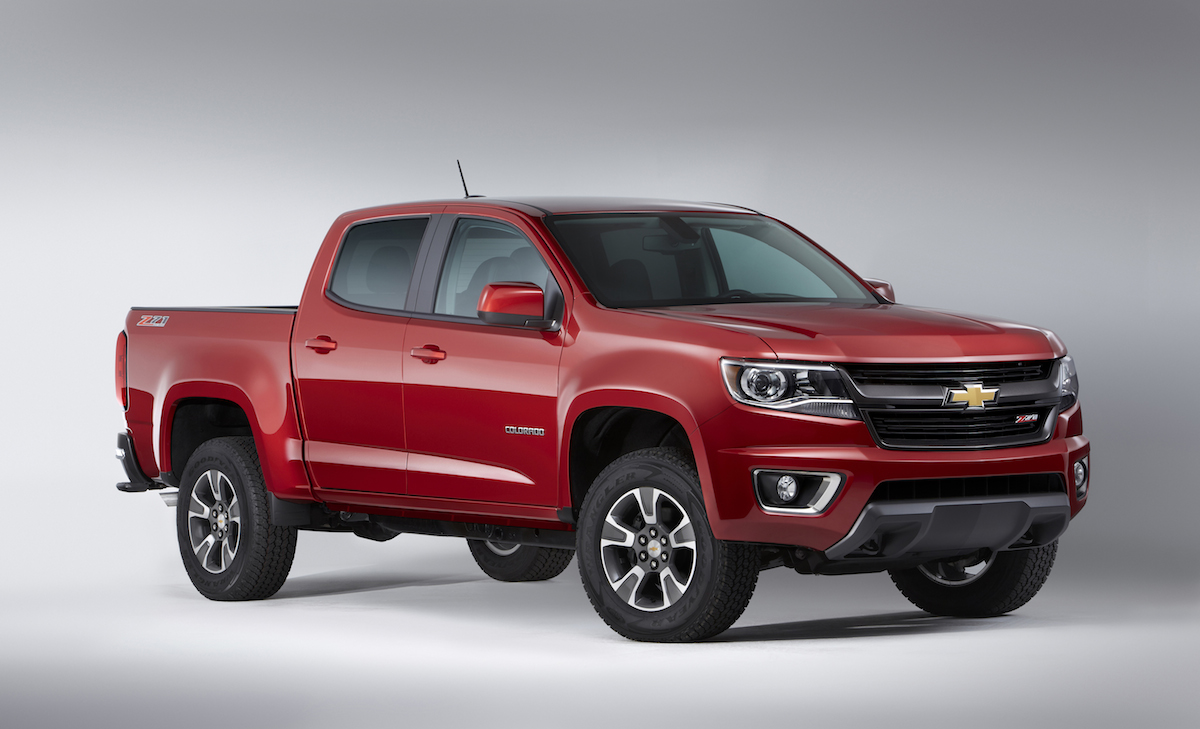 All Chevy chevy 1500 towing capacity : FIRST DRIVE: 2015 Chevrolet Colorado 2.5L offers a nimble, fuel ...
