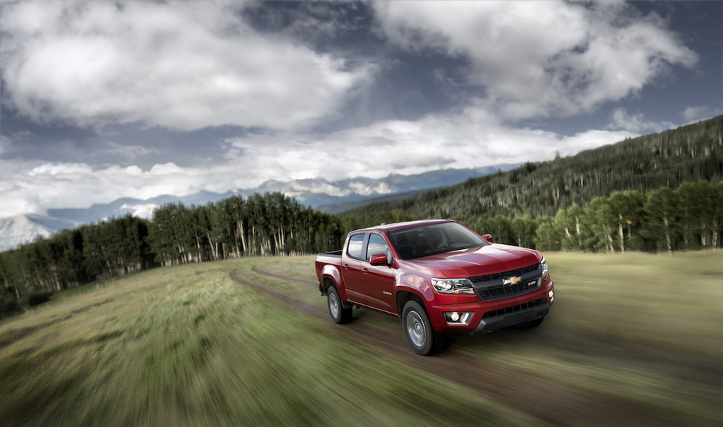 The 2015 Chevrolet Colorado Z71. Chevy announced the 2016 model of the midsize pickup will have a diesel option.