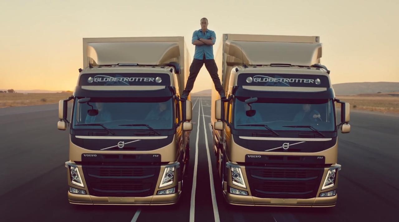 Jean-Claude Van Damme The Epic Split Volvo Trucks