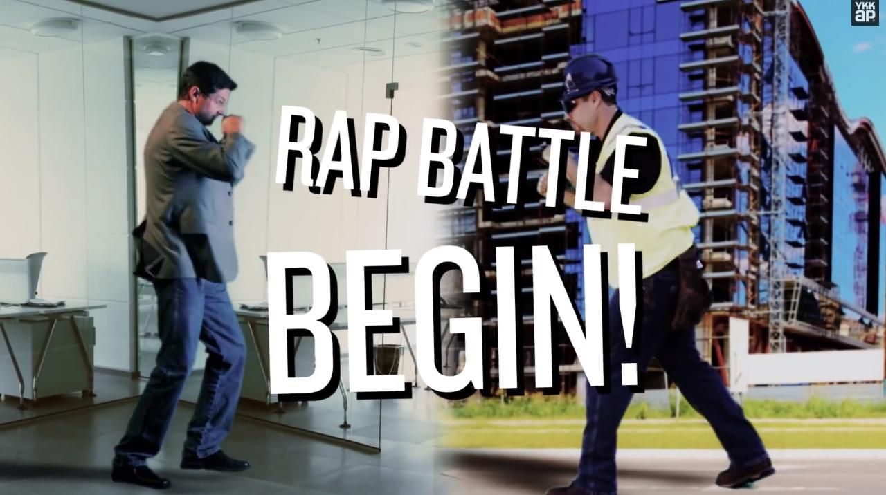 Contractors vs. Architects rap battle