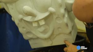 Spongebob Squarepants Macy's Thanksgiving Day Parade float model