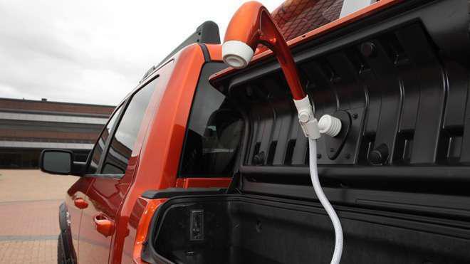 Ram 1500 Sun Chaser Concept Truck Sema Shower
