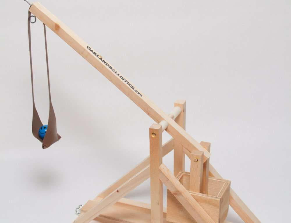 4th Day of Construction Gifts: Wooden Catapult Kit ...