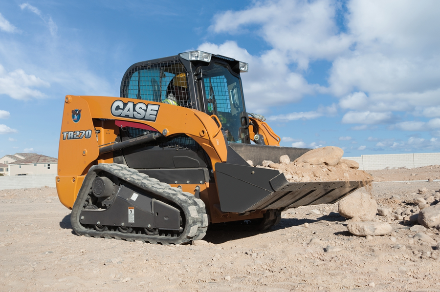 CASE TR270 Compact Track Loader Release
