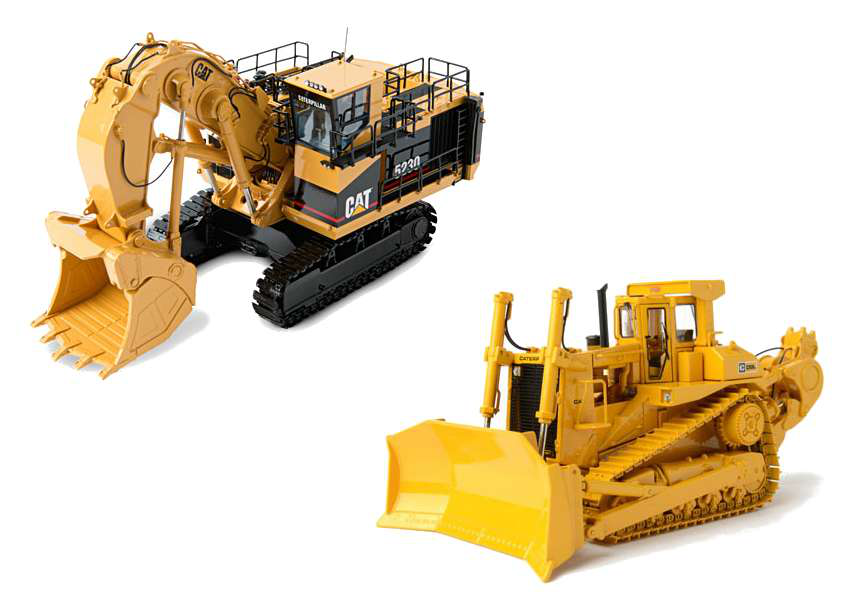 Caterpillar Equipment Toys : Rd day of construction gifts classic cat d l
