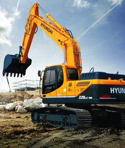Hyundai R220LC-9A crawler excavator