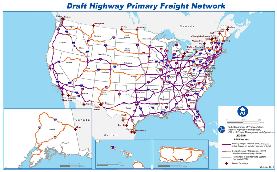 National PFN map