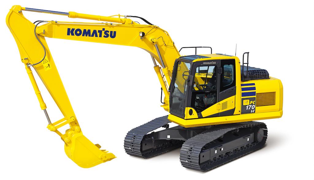 Komatsu PC170LC-10 excavator
