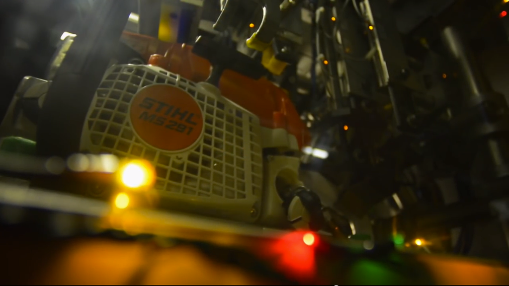 Stihl chainsaw silent night
