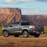2015-GMC-Canyon-AT-Three-Quarter-Rear-View-003