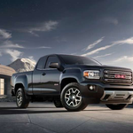 2015-GMC-Canyon-All-Terrain-Extended-Cab-Front-Three-Quarter-009
