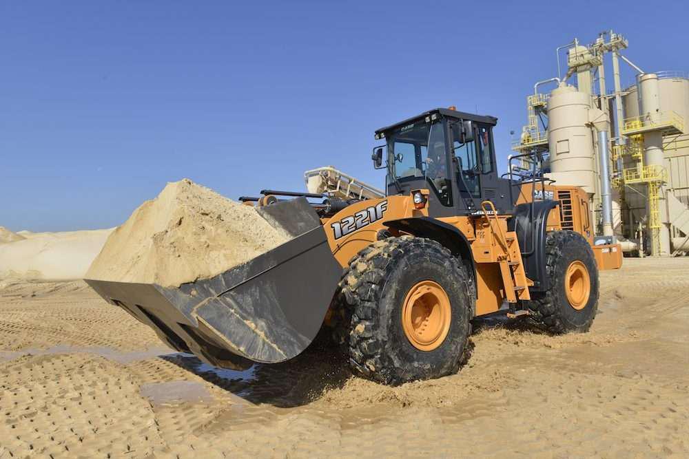 Case 1221F wheel loader