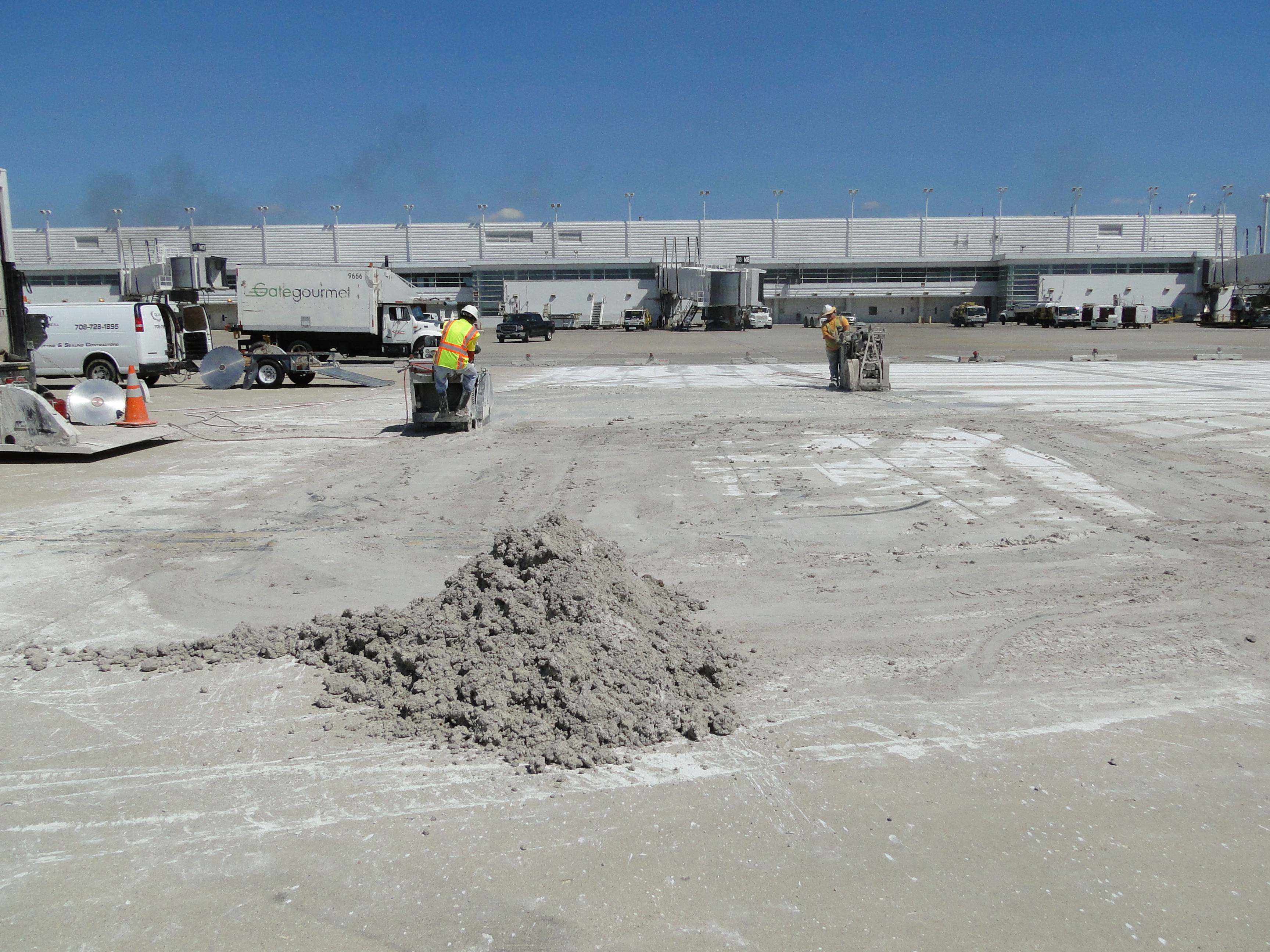 Disposal of Concrete Grinding Residue