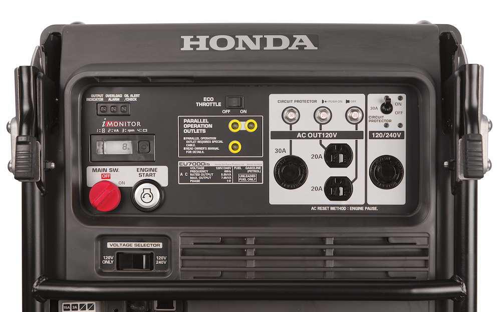 EFI makes Honda's new EU7000is portable generator more fuel efficient