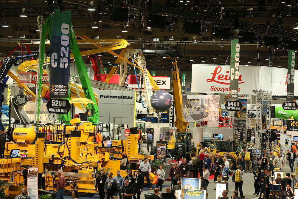 World of Concrete 2013