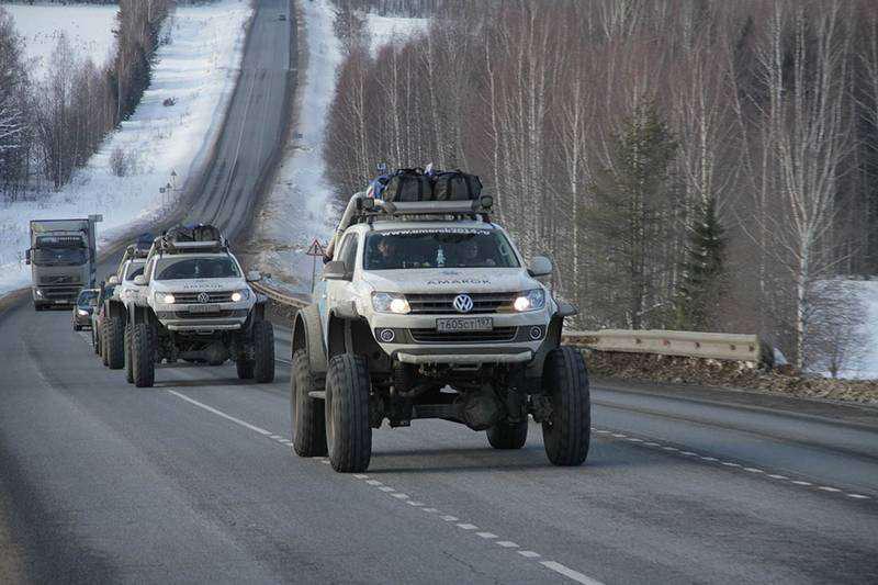 Volkswagen Polar Expedition Amarok Gallery