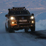 Volkswagen Polar Expedition Amarok pickup truck 2014 Winter Olympics Sochi