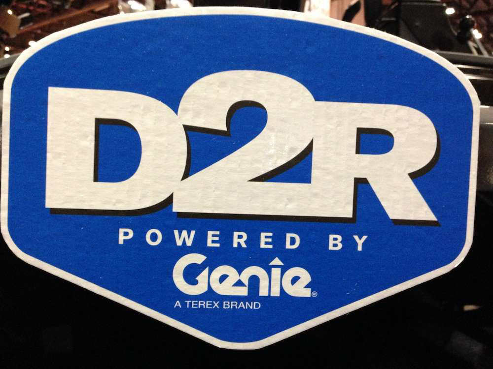Direct 2 Rental (D2R) is a new initiative by Terex division Genie to offer rental customer sales and service support for specific machines.