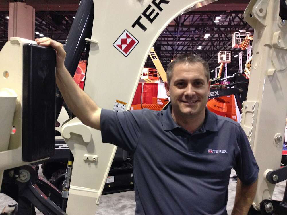 """Terex VP Dean Barley: """"Things made sense with the trucks and we took the opportunity."""""""