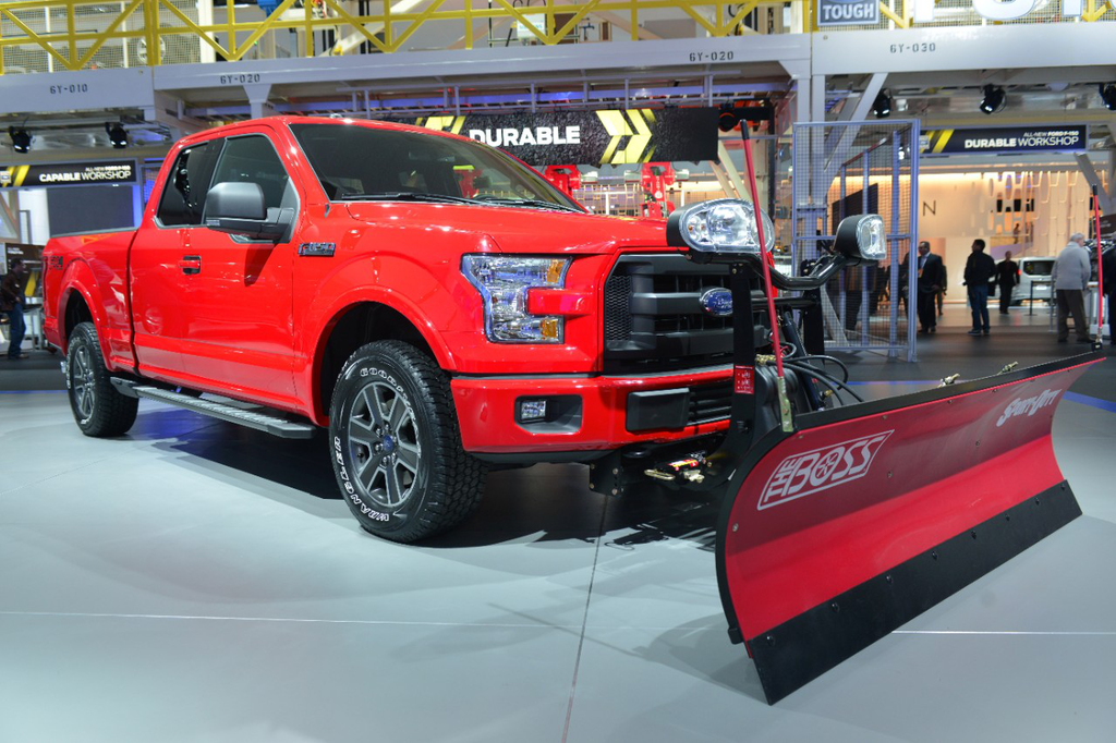 2015 Ford F-150 snow plow prep option