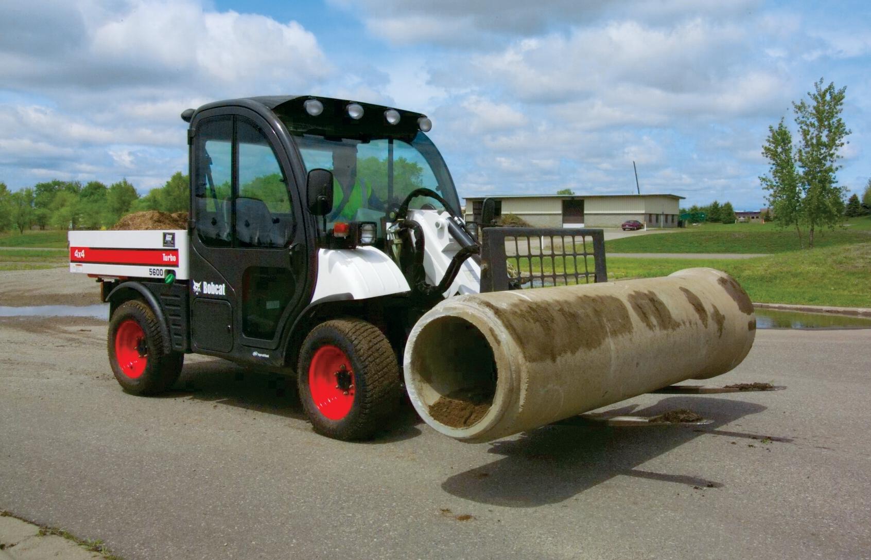 Bobcat unveils hydrostatic drive utility vehicles, Tier 4-compliant