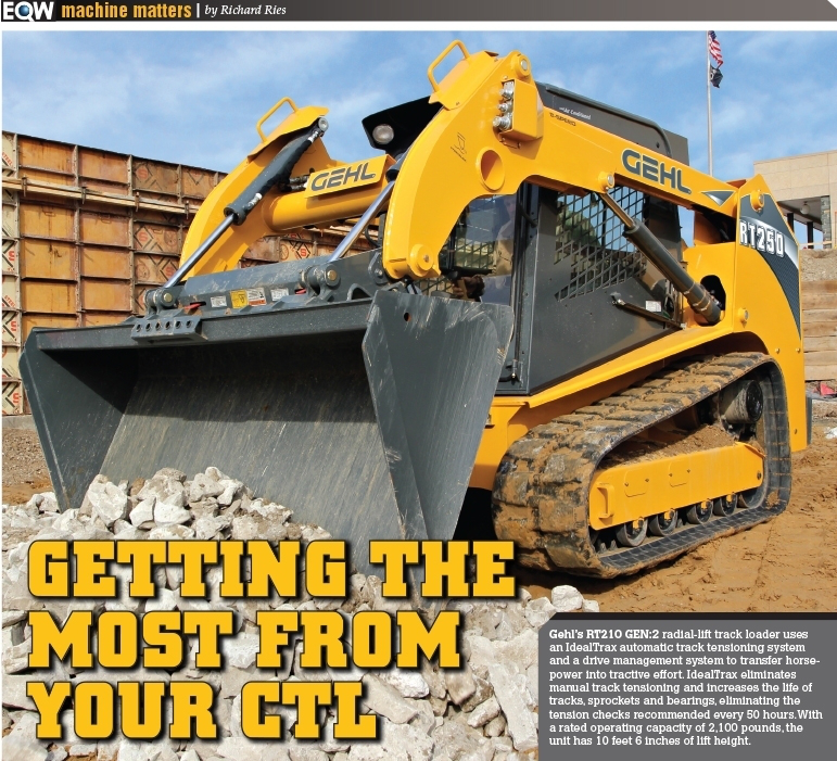 How to get the most work out of your compact track loader