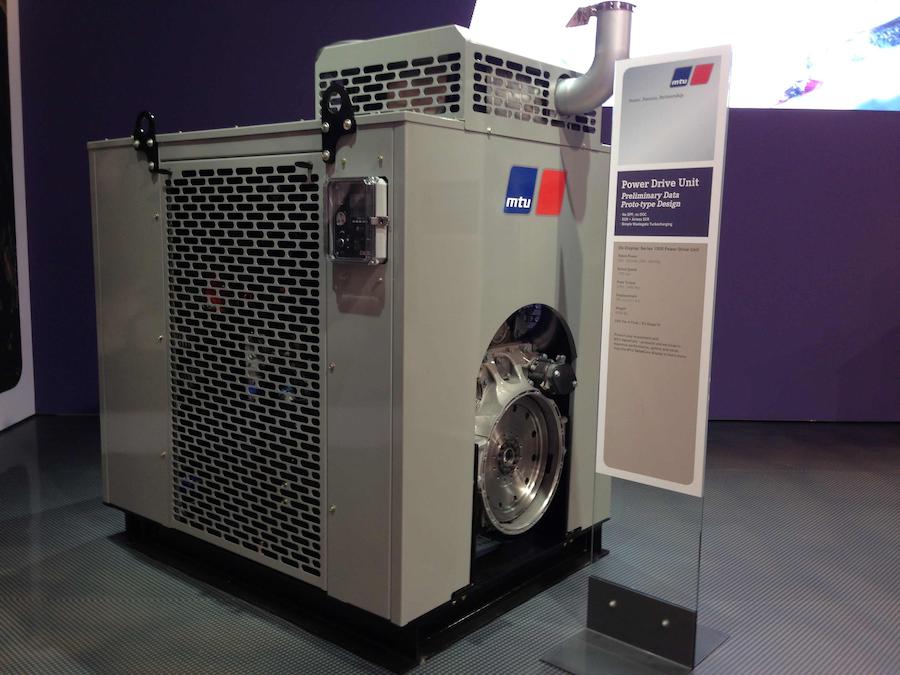 MTU Power Drive Unit