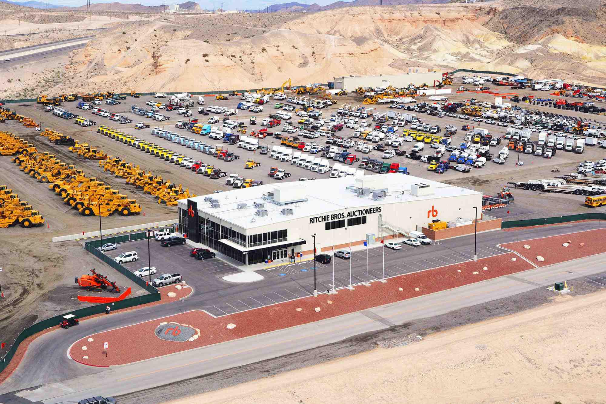 Ritchie Bros Las Vegas Auction Coinciding With Conexpo