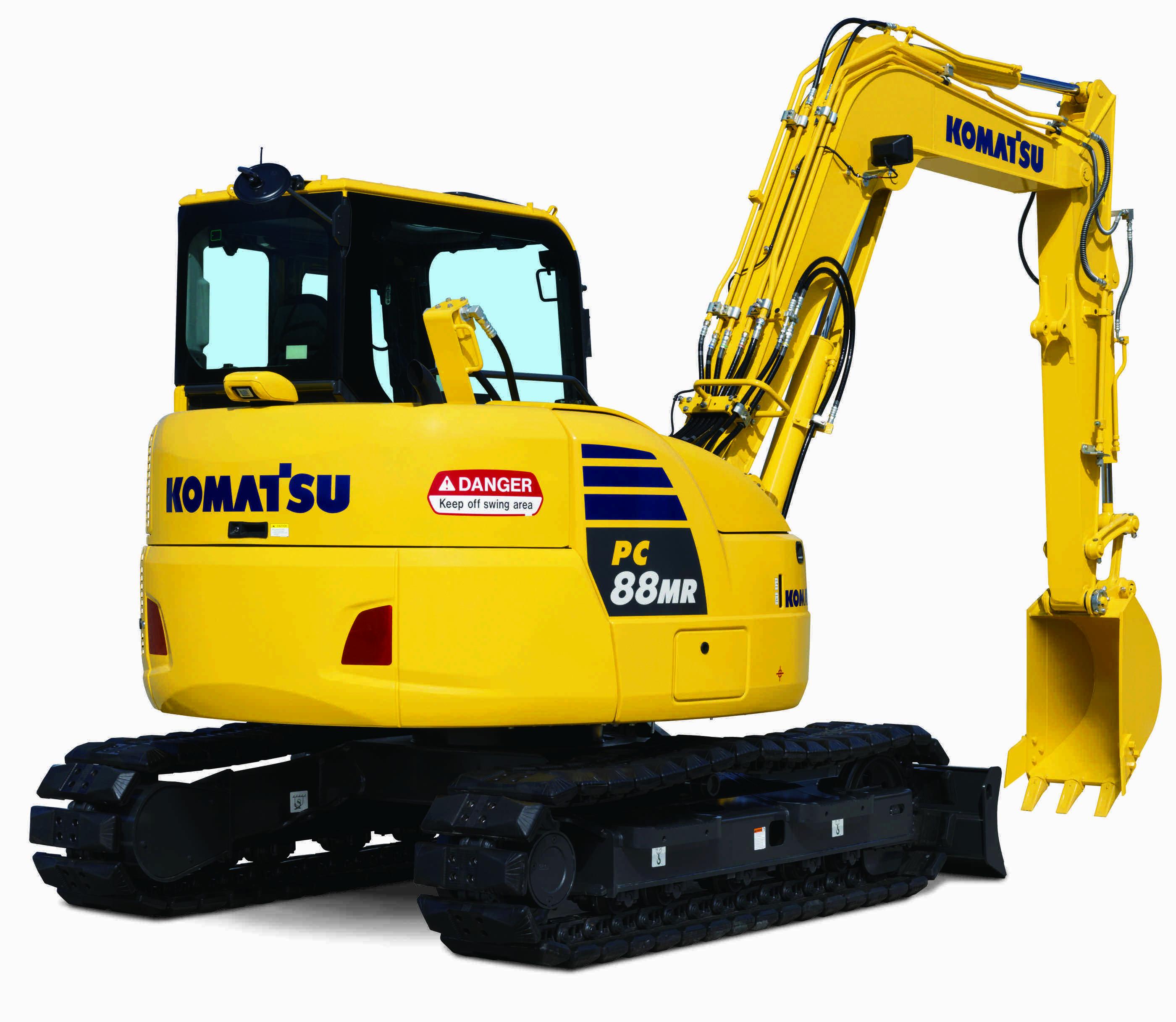 Komatsu rolls out 6 new hydraulic excavators, 2 dozers and