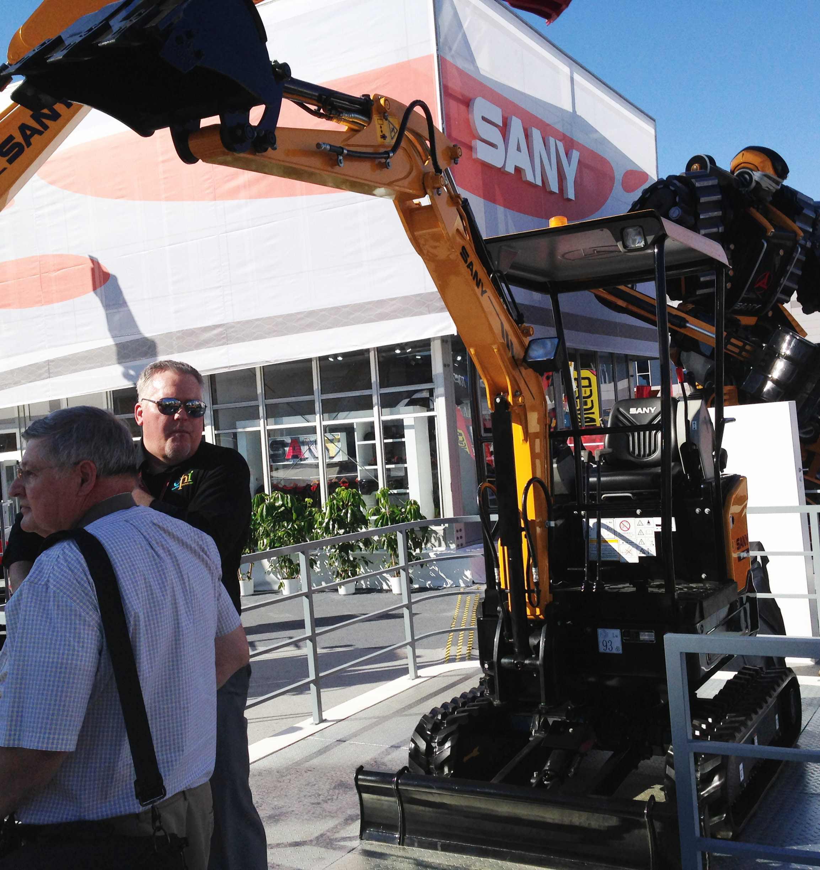 Sany unveils SY16C and SY35U compact excavators