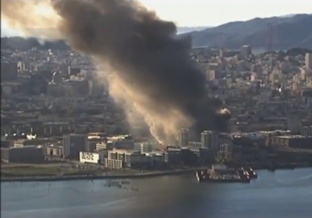 San Francisco 5-alarm fire