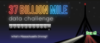 The 37 Billion Mile Data Challenge urges participants to create insightful tools that show driving patterns in the state. (Photo via 37 Billion Mile Challenge)